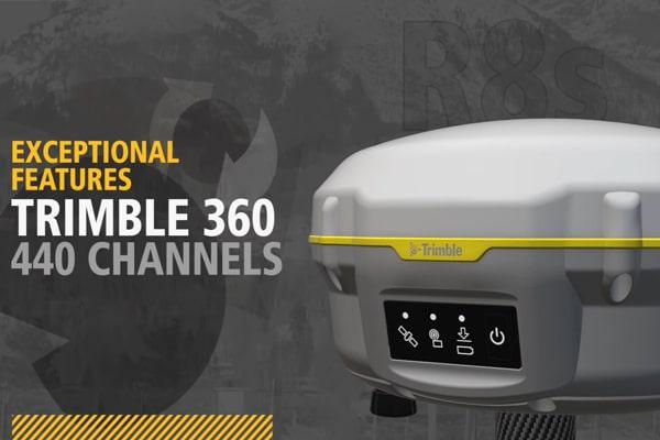 Công nghệ Trimble 360 - bắt 440 kênh