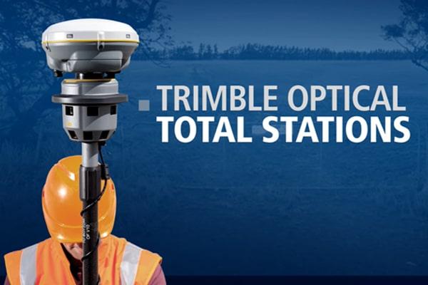 Trimble R8s có thể kết hợp với máy toàn đạc Trimble S Series