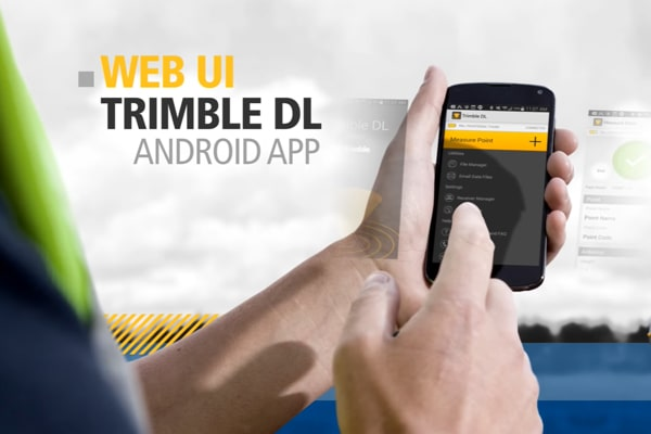 Ứng dụng Android của Trimble R8s