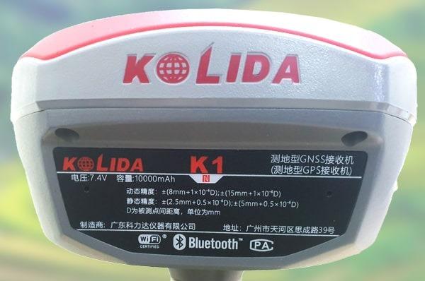 Máy GPS 2 Tần Số Kolida K1 Pro