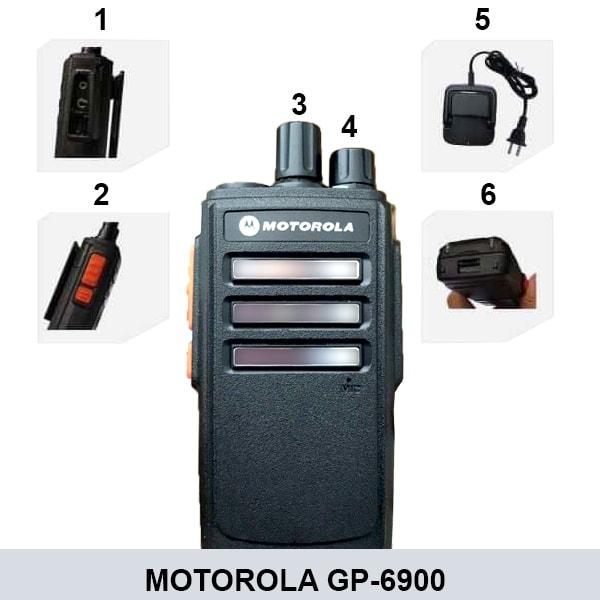 Chức năng bộ đàm motorola gp 6900