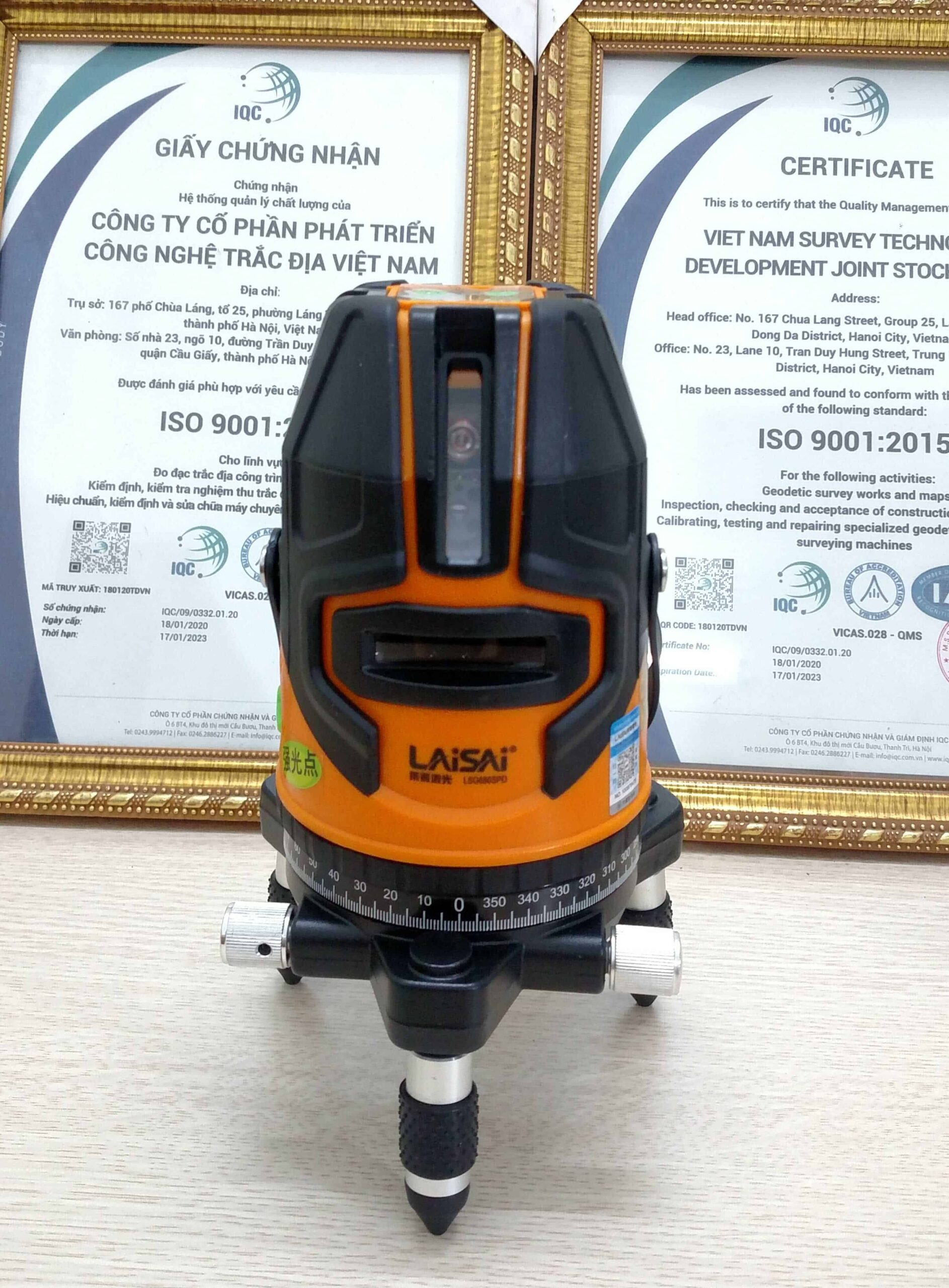 Máy cân bằng laser Laisai LSG686SPD