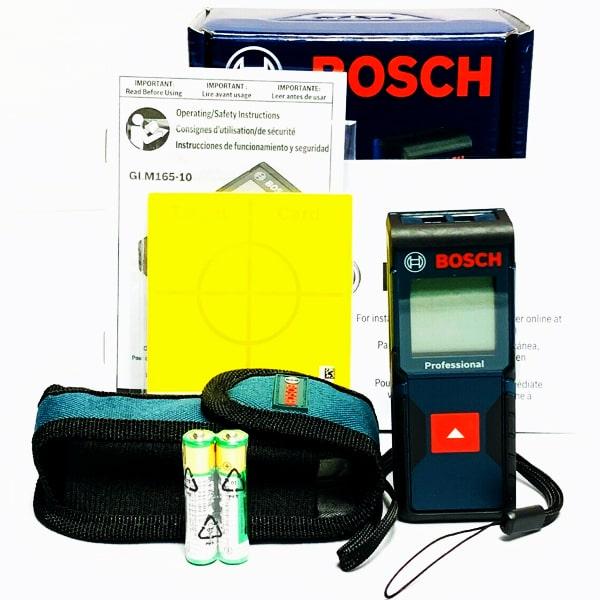 Bộ thước laser bosch glm165-40