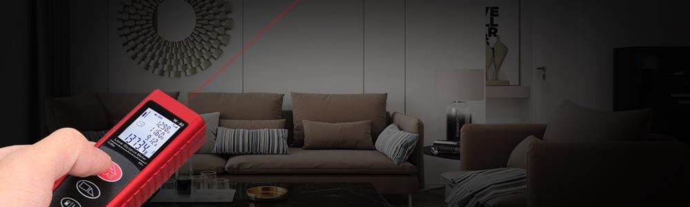 Banner thước đo laser